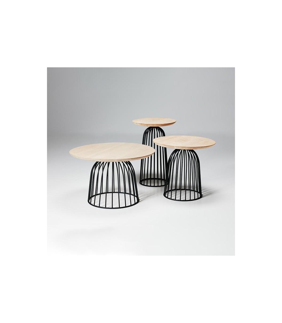 WIRE BASKET COFFEE TABLE WON DESIGN